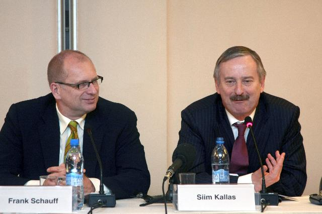 Visit of Siim Kallas, Vice-President of the EC, to Russia