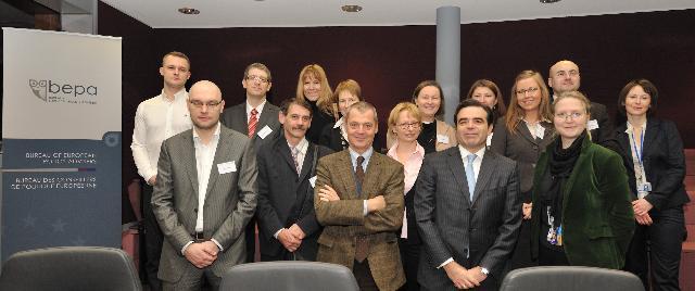 Visite d'étude de fonctionnaires polonais à la CE