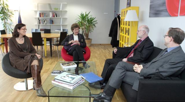 Visite de Staffan Nilsson, président du CESE, à la CE
