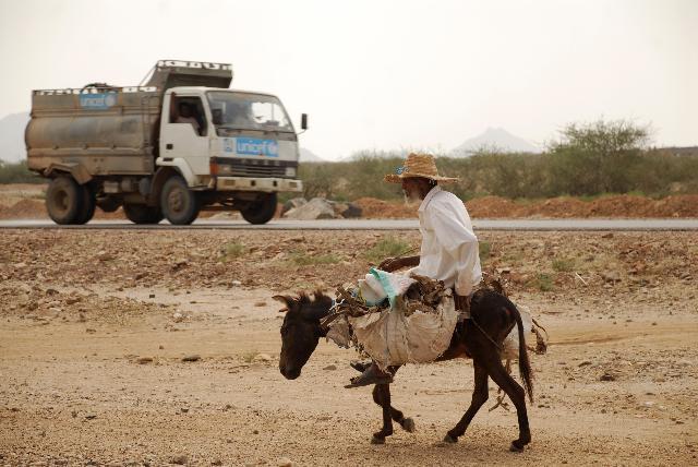 Camps de réfugiés somaliens au Yémen