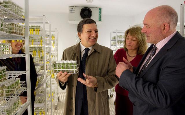 Visite de José Manuel Barroso, président de la CE, à Londres