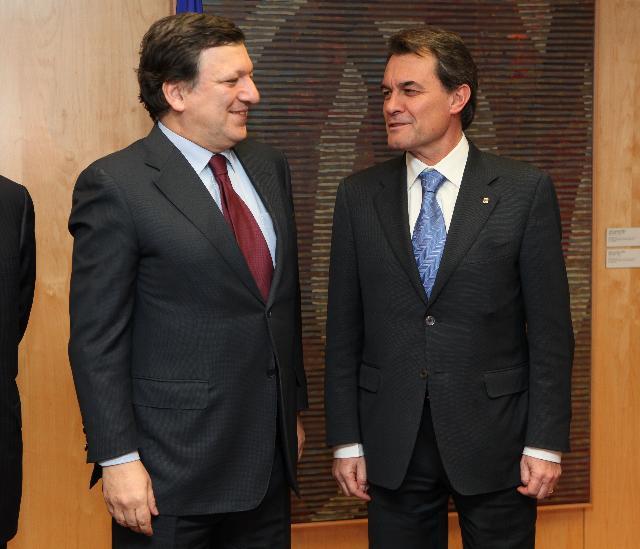Visit of Artur Mas, President of the Generalitat de Catalunya, to the EC