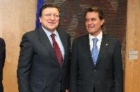 Visit of Artur Mas, President of the Generalitat de Catalunya, to the EC