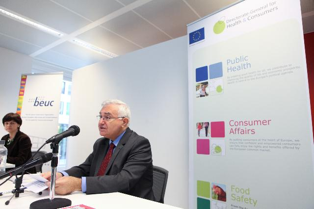 Presentation of the 5th Consumer Scoreboard by John Dalli, Member of the EC