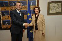 Visit of Tigran Sargsyan, Armenian Prime Minister, to the EC