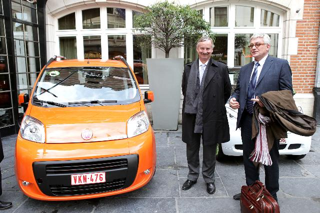 Participation of Siim Kallas, Vice-President of the EC, at the launch of the cross-European electromobility initiative, Green eMotion