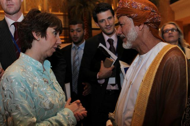 Visit of Catherine Ashton, Vice-President of the EC, to Abu Dhabi