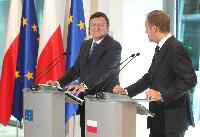 Participation of José Manuel Barroso, President of the EC, at the opening of the Permanent Representation of Poland to the EU