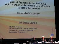 Participation of Neelie Kroes, Vice-President of the EC, in the 1st Digital Agenda Assembly