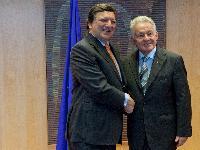 Visit of Josef Pühringer, Governor of the Land of Upper Austria, to the EC