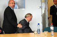 Visite de Wolfgang Schäuble, ministre fédéral allemand des Finances, à la CE