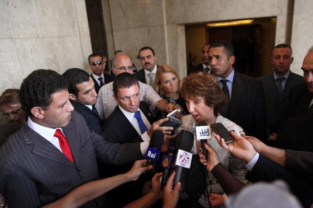 Visit of Catherine Ashton, Vice-President of the EC, to Egypt
