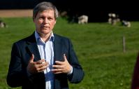 Visit by Dacian Cioloş, Member of the EC, to a farm at Ophain-Bois-Seigneur-Isaac