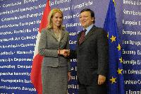 Visit of Helle Thorning-Schmidt, Danish Prime Minister, to the EC