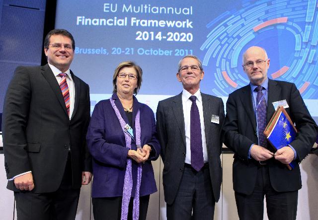 Participation de José Manuel Barroso, président de la CE, à la conférence de haut niveau sur le cadre financier pluriannuel de l'UE 2014-2020