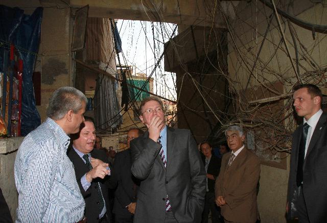 Visite de Štefan Füle, membre de la CE, au Liban