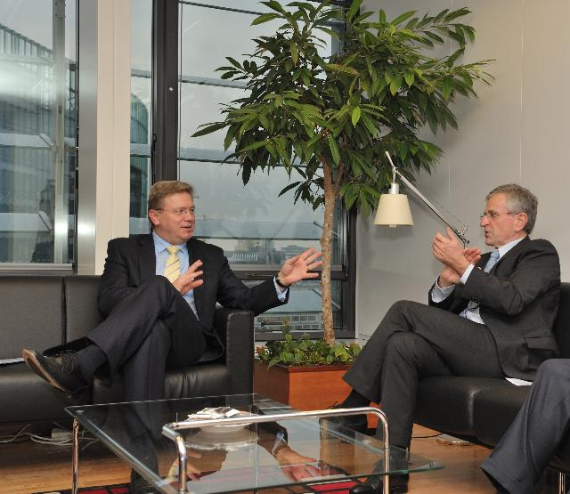 Visit of Wilhelm Molterer, Vice-President of the EIB, to the EC