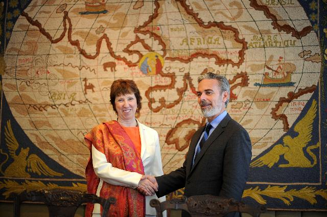Visit of Catherine Ashton, Vice-President of the EC, to Brazil