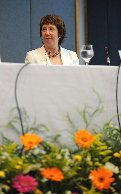 Visite de Catherine Ashton, vice-présidente de la CE, au Brésil