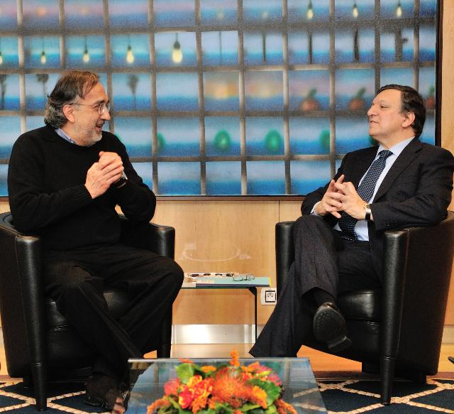 Visit of Sergio Marchionne, President of European Automobile Manufacturers Association, to the EC