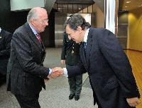 Visit of Albert II, King of the Belgians, to the EC