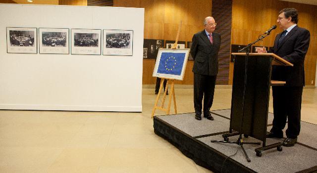 Visit of Albert II, King of the Belgians, to the EC