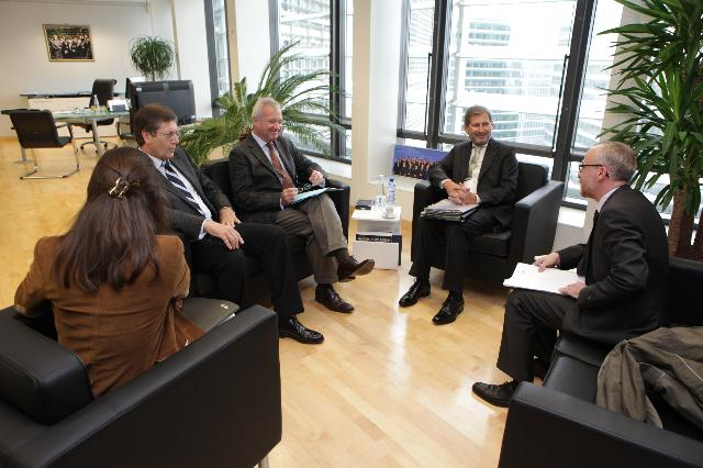 Visit of Ramón Luis Valcárcel Siso, President of the Regional Government of Murcia and First Vice-President of the Committee of the Regions, to the EC