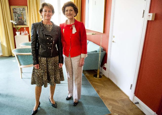 Visit of Androulla Vassiliou, Member of the EC, to Sweden
