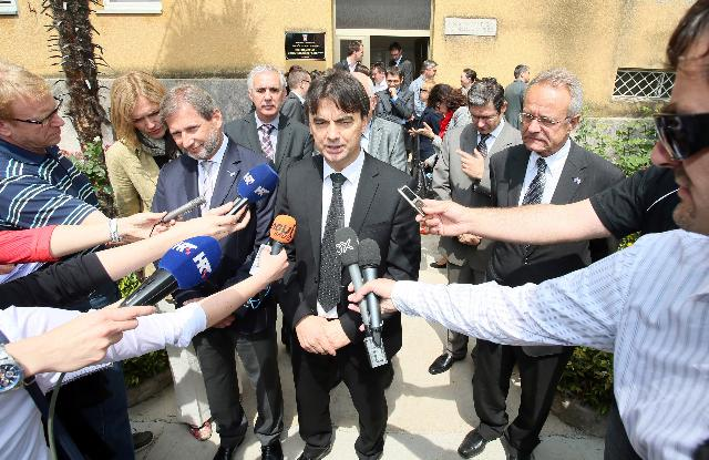 Visit of Johannes Hahn, Member of the EC, to Croatia