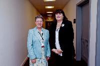 Visit of Máire Geoghegan-Quinn, Member of the EC, to Ireland