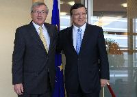 Visit of Jean-Claude Juncker, Luxembourgish Prime Minister; Minister of State; Minister for Finance and President of the Eurogroup, to the EC