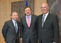 Visit of Jean Todt, President of the Fédération internationale de l'Automobile, to the EC