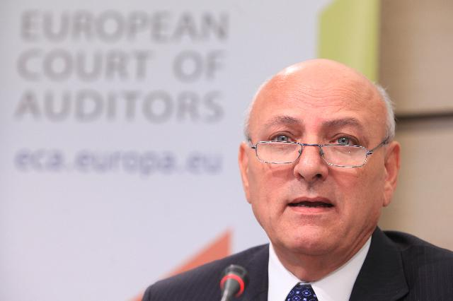 Press conference by Louis Galea, Member of the European Court of Auditors, on the ECA special report on European statistics