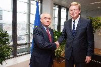 Visit to the EC of Mahmud Mammad-Guliyev, Azerbaijani Deputy Minister for Foreign Affairs, and Chief Negotiator for Azerbaijan's Accession to the WTO and for Azerbaijan's Association Agreement with the EU