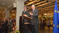Participation of José Manuel Barroso, President of the EC, and Maroš Šefčovič, Vice-President of the EC, in the event in honour of all the medallists of 20 years of European service