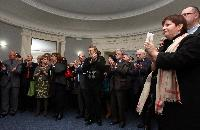 Direct broadcast in Paris of the 2012 Nobel Peace Prize® award ceremony