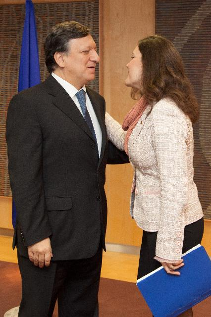 Visit of Assunção Cristas, Portuguese Minister for Agriculture, Sea, Environment and Spatial Planning, to the EC