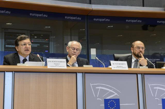 Participation of José Manuel Barroso, President of the EC, in the Conference of Presidents