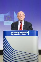 Press conference by Joaquín Almunia, Vice-President of the EC,  on several decisions on the cases of Antitrust