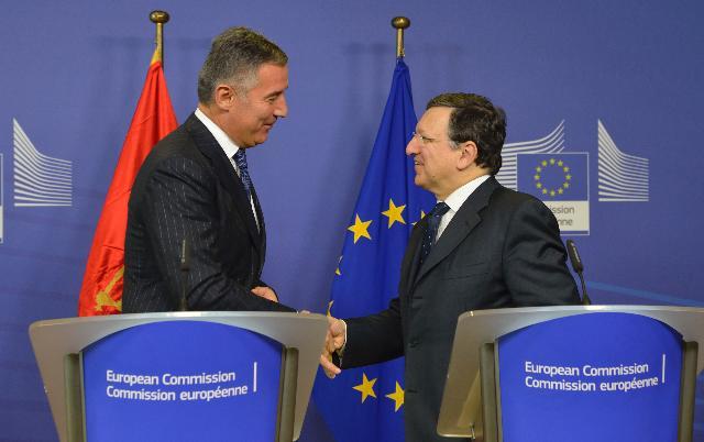 Visit of Milo Đukanović, Montenegrin Prime Minister, to the EC