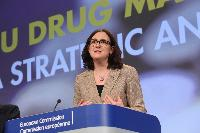 Joint press conference by Cecilia Malmström, Rob Wainwright and Wolfgang Götz on the findings of the first joint EU drug markets report, produced by the EMCDDA and Europol