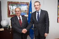 Visit of Ramtane Lamamra, Member of the AUC in charge of Peace and Security, to the EC