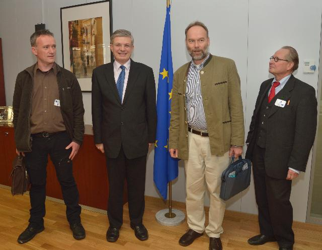 Visit of a delegation from EPBA to the EC