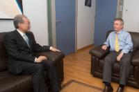 Visit of Bark Taeho, South Korean Minister for Trade, to the EC