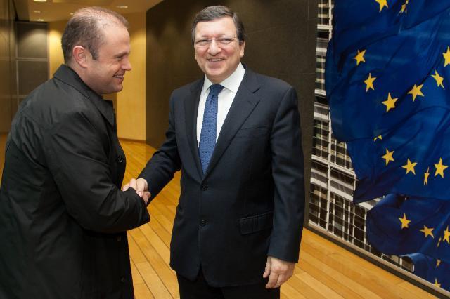 Visit of Joseph Muscat, Maltese Prime Minister, to the EC