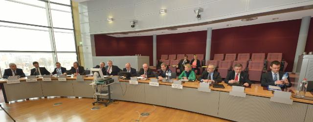 Visit of the Presidents of the Council of the Danube Cities and Regions to the EC