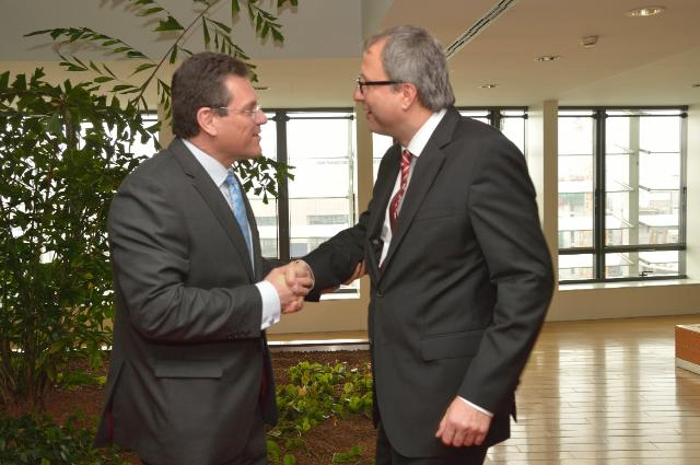 Visit of Andreas Voßkuhle, Chairman of the Federal Constitutional Court of Germany, to the EC