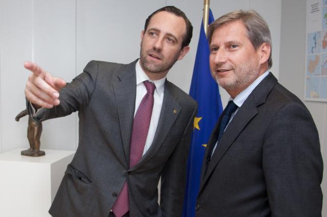 Visit of José Ramón Bauzá Díaz, President of the Balearic Islands, to the EC