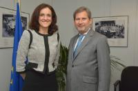 Visit of Theresa Villiers, UK Secretary of State for Northern Ireland, to the EC