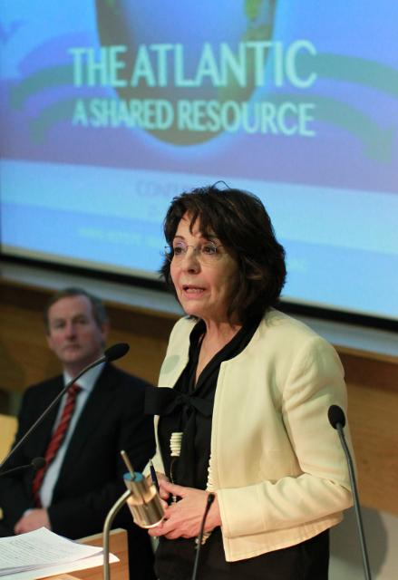 'The Atlantic - A Shared Resource' high level conference organised by the Irish Marine Institute, in Galway